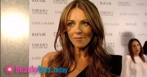 Elizabeth Hurley reveals her secrets for looking amazing.  You'll never believe how easy it is!