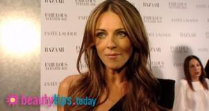ELizabeth Hurley Beauty Tips